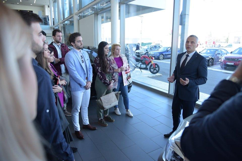 Studenti obrazovnog programa Compass posetili su kompaniju Delta Auto